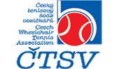 Logo Českého tenisového svazu vozíčkářů